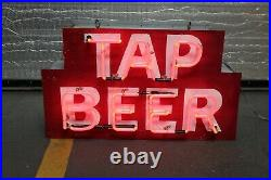 Tap Beer Small Neon Advertising Sign