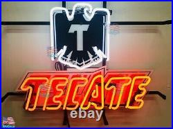 Tecate Bar Beer Light Lamp Neon Sign 20 With HD Vivid Printing