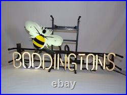 VINTAGE Boddington's Beer Bee Authentic Neon Sign Pickup only