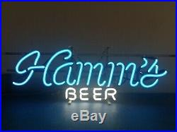 (VTG) Hamms beer neon light up back bar sign game room man cave rare
