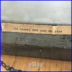 Vintage Really Old Neon Hamm's Beer Sign