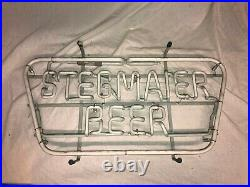 Vintage Working ONE Stegmaier Beer Neon Sign Incl. Transformer Working